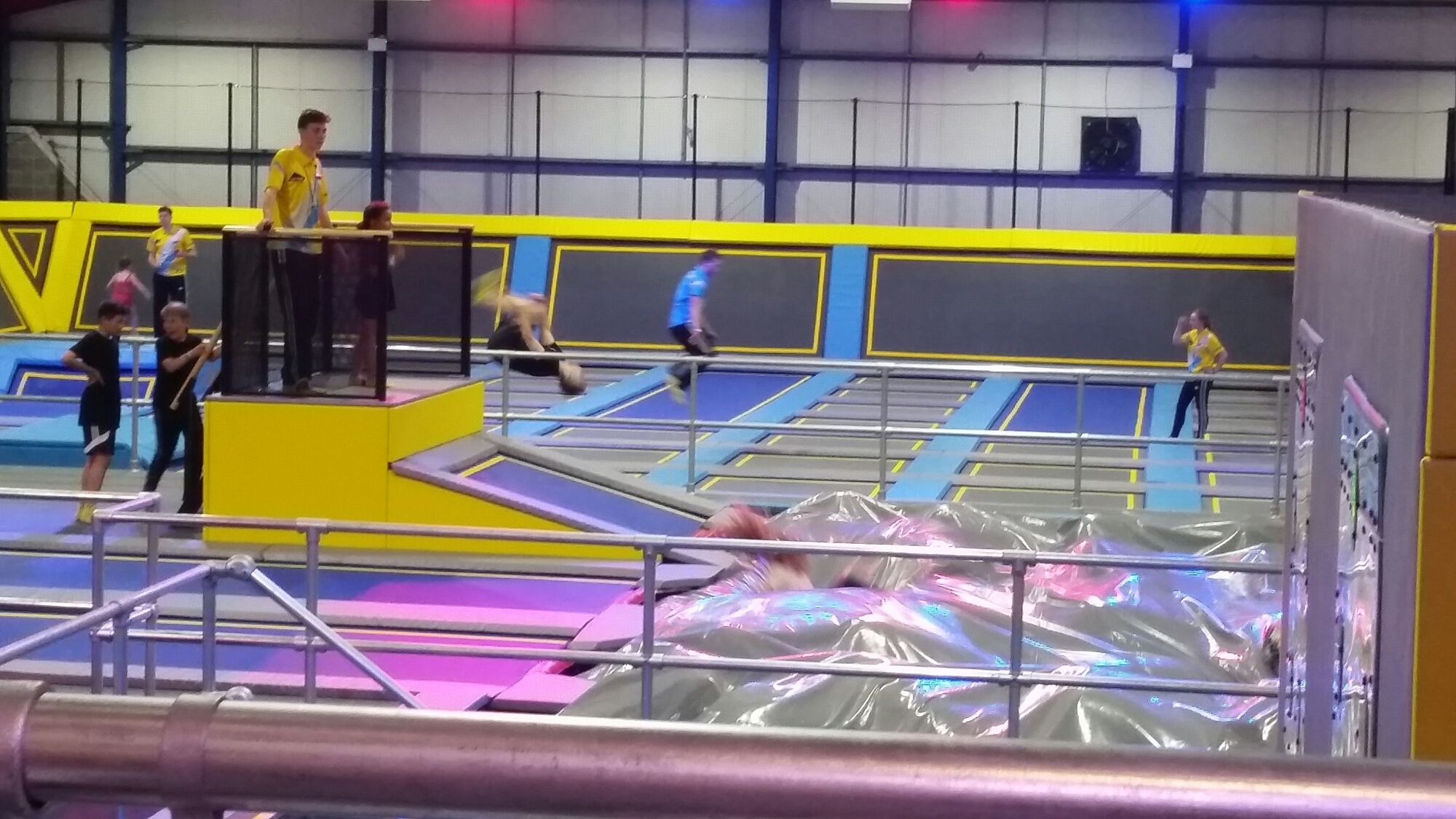 Oxygen free jumping manchester