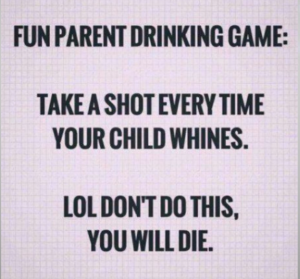 Fun drinking game for patents