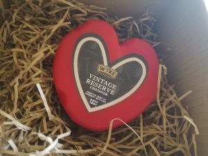 Valentine's cheese from wyke farm