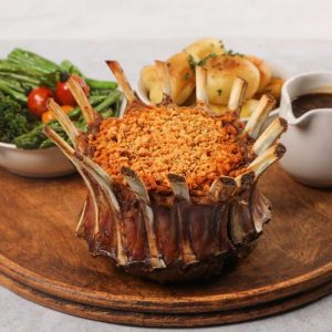 lamb stuffed crown